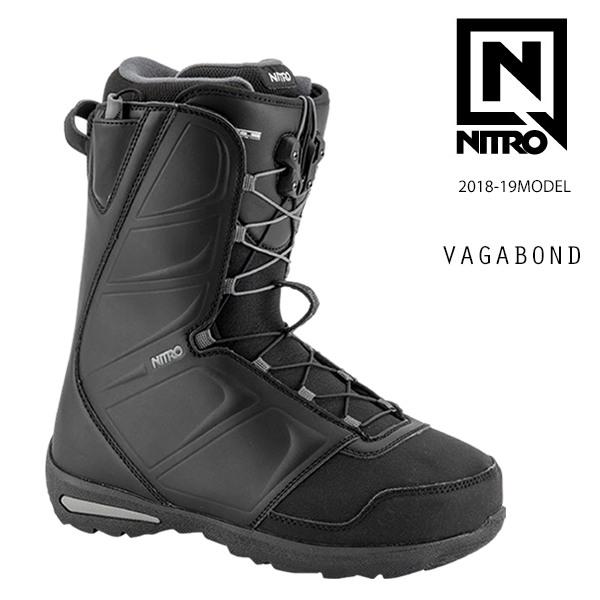 クーポン対象商品 予約販売 10月中旬入荷予定 送料無料 スノーボード ブーツ NITRO ナイトロ VAGABOND バガボンド 18-19モデル メンズ FX H10