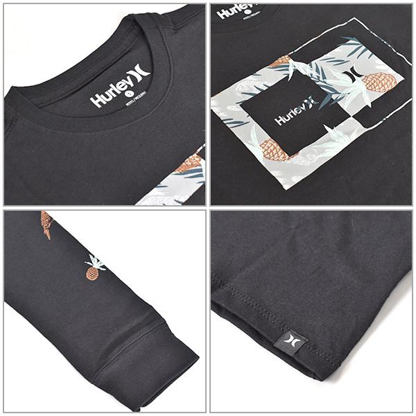408dece48de69 ジュニア トップス 長袖 Tシャツ Hurley ハーレー AO2233 (130cm~160cm) ジュニア 子供 男の子 女の子 カジュアル ...