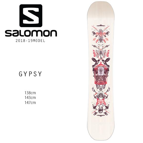 予約販売 11月中旬入荷予定 スノーボード 板 SALOMON サロモン GYPSY ジプシー 18-19モデルレディース FF H30