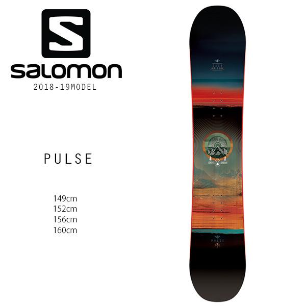 クーポン対象商品 予約販売 10月中旬入荷予定 スノーボード 板 SALOMON サロモン PULSE パルス 18-19モデル メンズ FF H23