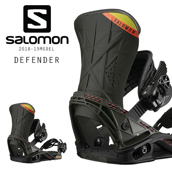 送料無料 予約販売 10月中旬入荷予定 スノーボード バインディング ビンディング SALOMON サロモン DEFENDER ディフェンダー 18-19モデル FF I1 MM