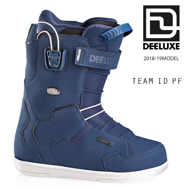 クーポン対象商品 予約販売 10月中旬入荷予定 送料無料 スノーボード ブーツ DEELUXE ディーラックス TEAM ID PF チーム 18-19モデル メンズ FF H18