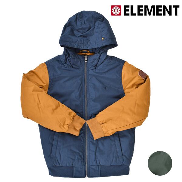送料無料 ジュニア ジャケット ELEMENT エレメント AI026-754 130cm~160cm 中綿入りアウター FX3 H25