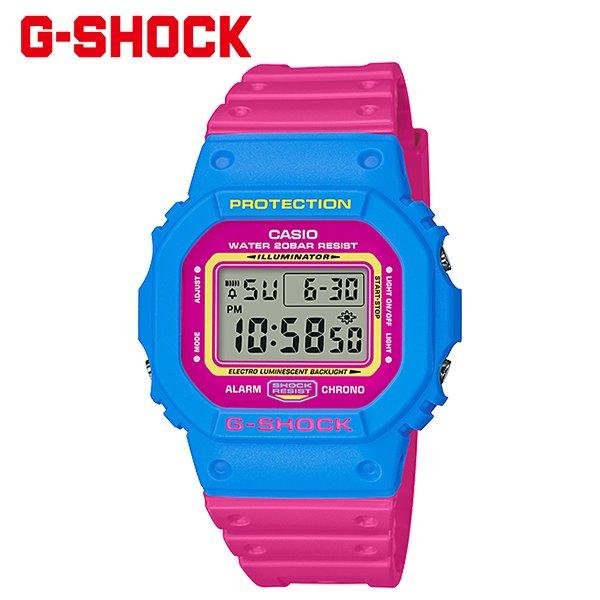 送料無料 時計 G-SHOCK ジーショック THROW BACK 1983 DW-5600TB-4BJF FF H24