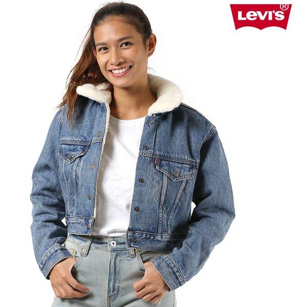 送料無料 レディース ジャケット Levis リーバイス 57847 デニムジャケット FF3 J5