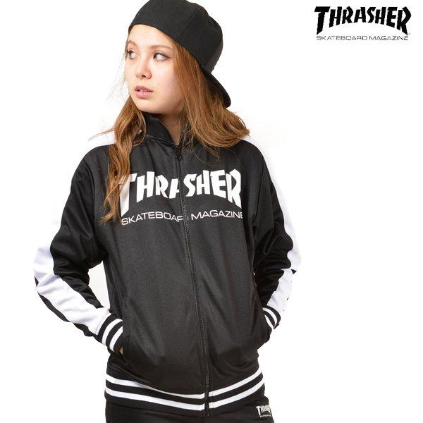 送料無料 レディース ジャケット THRASHER スラッシャー TH5152 TRACK L FF3 J15