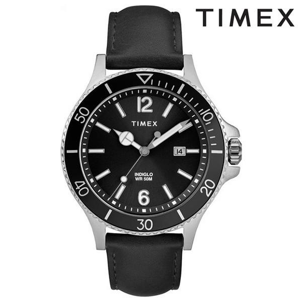 送料無料 時計 TIMEX タイメックス ハーバーサイド TW2R64400 ブラック FF J15 MM