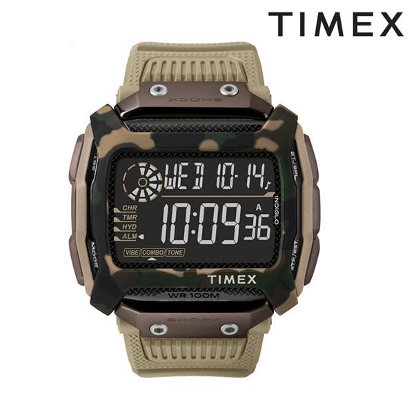 送料無料 時計 TIMEX タイメックス コマンドショック TW5M20600 FF サンド J15