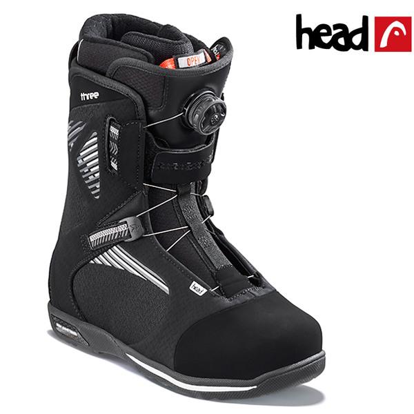 送料無料 スノーボード ブーツ HEAD ヘッド THREE BOA スリー ボア 18-19モデル メンズ FF J18
