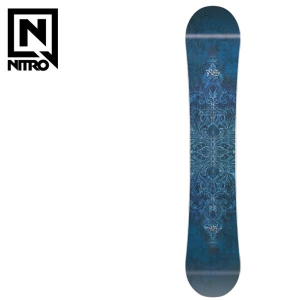 スノーボード 板 NITRO ナイトロ MYSTIQUE ミスティーク 17-18モデル レディース F1 K28