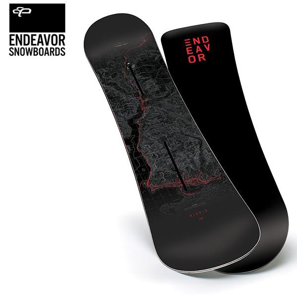 スノーボード 板 ENDEAVOR エンデバー HIGH 5 ハイファイブ 18-19モデル FX K30