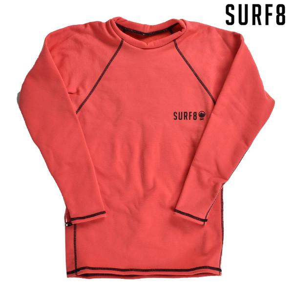 送料無料 サーフィン インナー SURF8 サーフエイト 88F4C3 SMC マグマコア 起毛 長袖シャツ サーフインナー トップス Tシャツ FFF K27