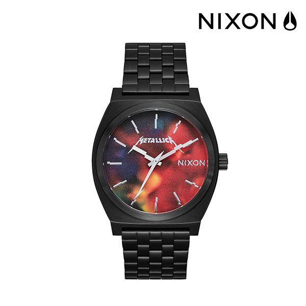 NIXON ニクソン TIME TELLER タイムテラー HARDWIRED 時計 A045-3109 METALLICA コラボレーションモデル FF K29