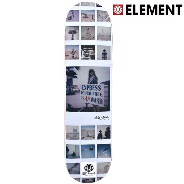 送料無料 スケートボード デッキ ELEMENT エレメント AI027-144 POLAROIDO ORIGINALS NICK シグネチャーモデル FF L2