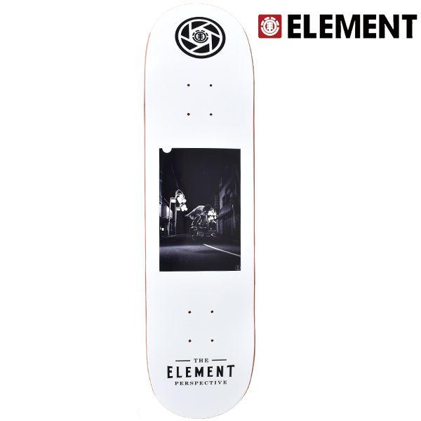 送料無料 スケートボード デッキ ELEMENT エレメント AJ027-PCM PHOTOCOMPE MURASAKI WIN ムラサキスポーツ限定 FF L2