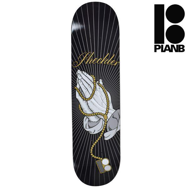 送料無料 スケートボード デッキ PLAN B プラン ビー BRO SHECKLER ROSARY シグネチャーモデル GG L6