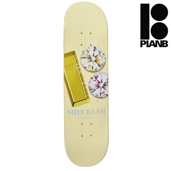 送料無料 スケートボード デッキ PLAN B プラン ビー BSB SHECLER BLING シグネチャーモデル GG L6