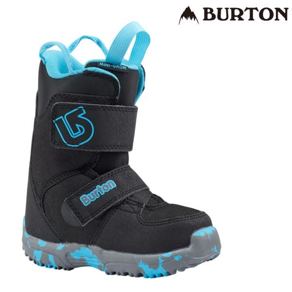 送料無料 キッズ スノーボード ブーツ BURTON バートン MINI GROM ミニ グロム 18-19モデル FF A19