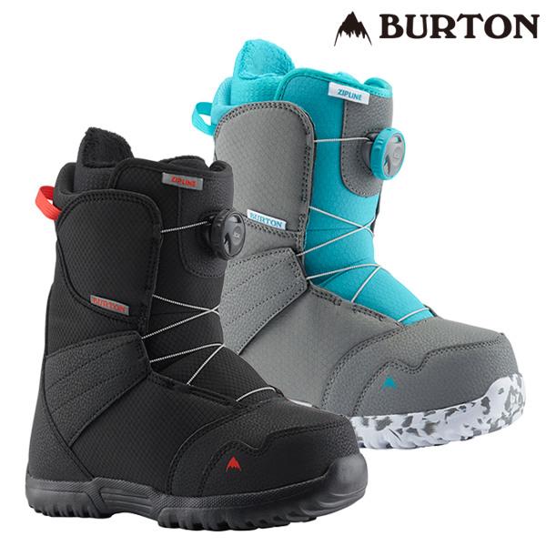 送料無料 キッズ ジュニア スノーボード ブーツ BURTON バートン ZIPLINE BOA ジップライン ボア 18-19モデル FF A19