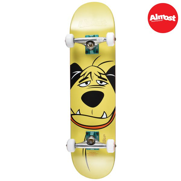 送料無料 キッズ スケートボード コンプリートセット ALMOST オールモスト MUTTIEY FACE FF A18