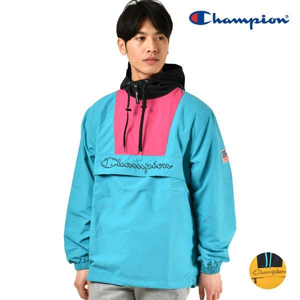 送料無料 メンズ ジャケット Champion チャンピオン C3-L609 アノラックジャケット GX1 B13