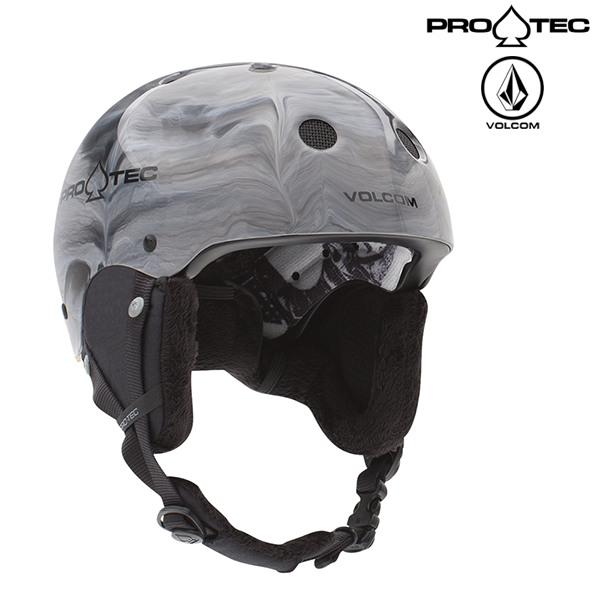 送料無料 スノーボード ヘルメット PROTEC プロテック × VOLCOM ボルコム CLASSIC CERTIFIED SNOW 18-19モデル FX B19