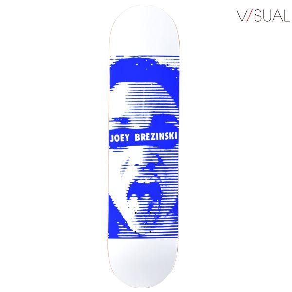 送料無料 スケートボード デッキ V/SUAL ヴィジュアル JOEY BREZINSKI CENSORED VD13 シグネチャーモデル GG C12