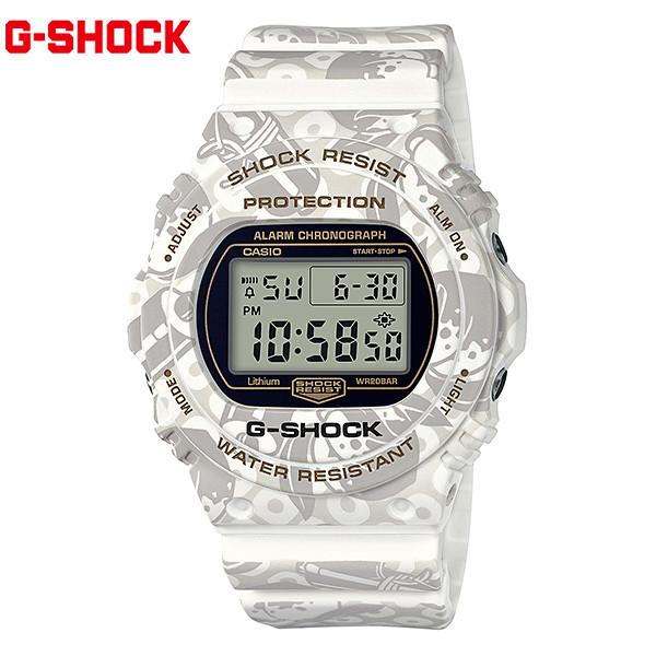送料無料 時計 腕時計 G-SHOCK ジーショック DW-5700SLG-7JR 七福神モデル リストウォッチ カジュアル スポーツ 防水 ショックレジスト GG C1