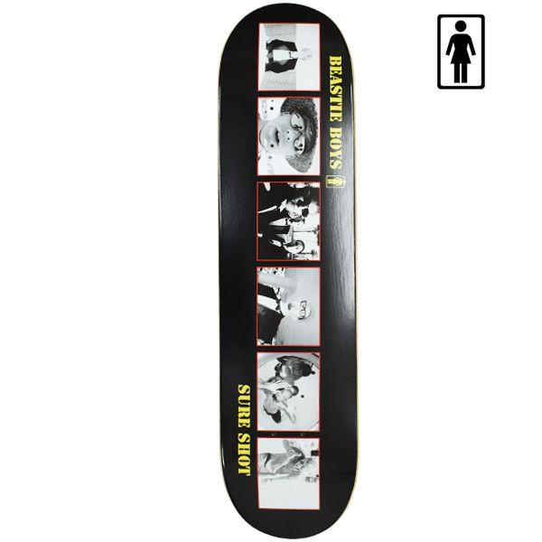 送料無料 スケートボード デッキ GIRL ガール × BEASTIE BOYS ビースティーボーイズ SURE SHOTTEAM GM8 7.875インチ GG C27