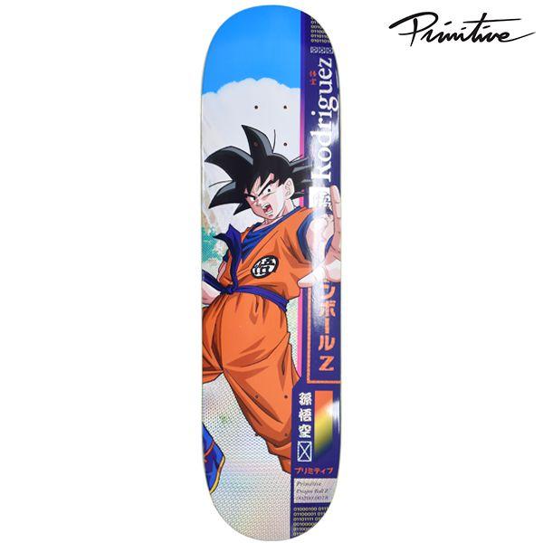 送料無料 スケートボード デッキ PRIMITIVE プリミティブ × DRAGON BALL Z ドラゴンボールZ PM10 7.875インチインチ シグネチャーモデル GG C27