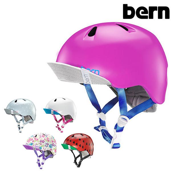 送料無料 キッズ ヘルメット bern バーン NINA ニーナ プロテクター GG C25 MM