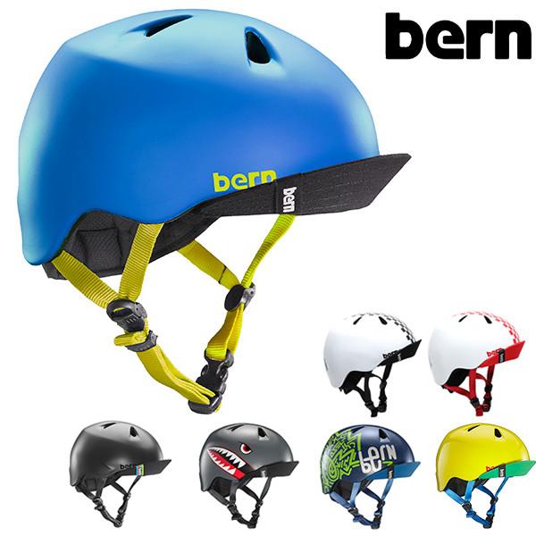 送料無料 キッズ ヘルメット bern バーン NINO ニーノ プロテクター GG C25 MM