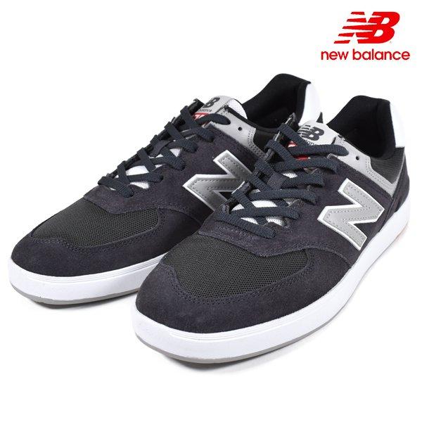 送料無料 メンズ シューズ new balance ニューバランス AM574BKR スニーカー スケートシューズ GG1 C18