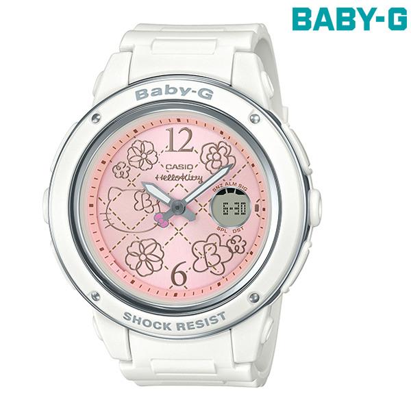 送料無料 BABY-G ベビージー ハローキティコラボ 腕時計 BGA-150KT-7BJR レディース GG C15