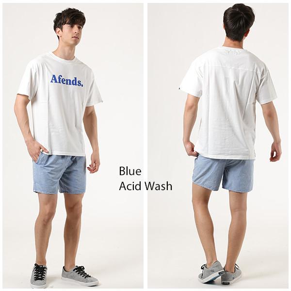 41a15f684b Baywatch Blue Acid Wash Elastic Waist Boardshort 16inch サーフショーツ ブルー 青 ブリーチ  メンズ ユーティリティーショーツ AFENDS アフェンズ 09-04-082-191 ...