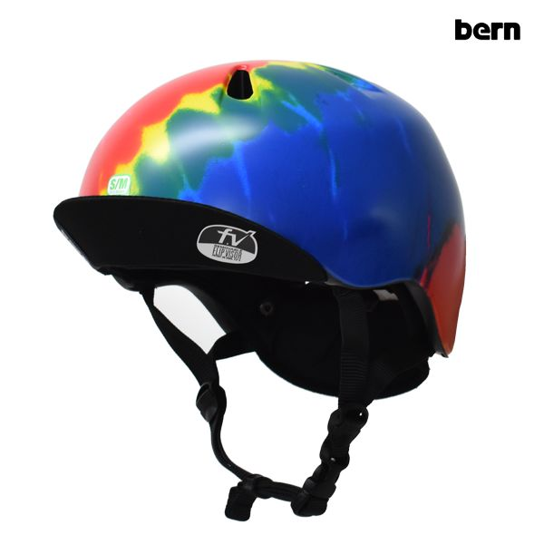 送料無料 キッズ ヘルメット bern バーン NINO ニーノ BE-VJBTD-12 Summer Tie Dye FF G13