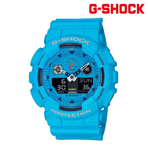 送料無料 時計 G-SHOCK ジーショック GA-100RS-2AJF GG G13