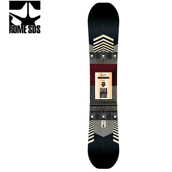 予約販売 11月中旬入荷予定 スノーボード 板 ROME SDS ローム AGENT エージェント 19-20モデル メンズ GG G16