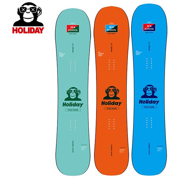 予約販売 11月中旬入荷予定 スノーボード 板 HOLIDAY ホリデー NEW SCHOOL ニュースクール 19-20モデル メンズ GG G23