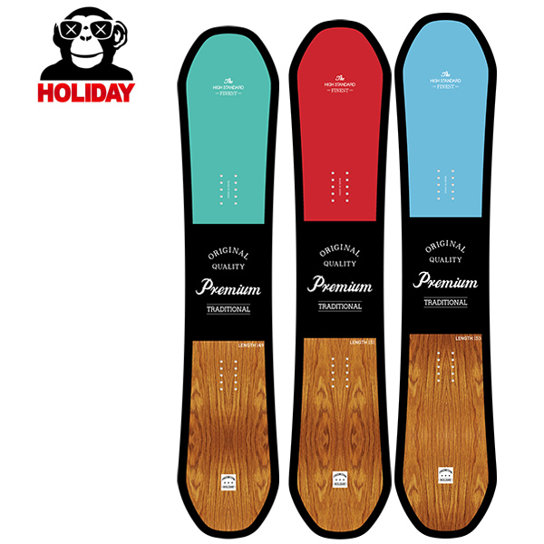 予約販売 11月中旬入荷予定 スノーボード 板 HOLIDAY ホリデー PREMIUM CAMBER プレミアム キャンバー 19-20モデル メンズ GG G23 MM