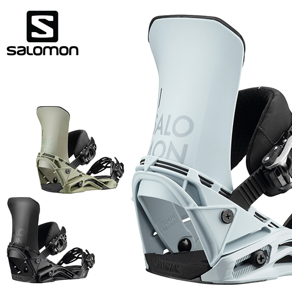 予約販売 11月中旬入荷予定 スノーボード バインディング ビンディング SALOMON サロモン DISTRICT ディストリクト 19-20モデル GG H6