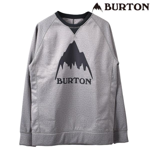 メンズ スノー インナー BURTON バートン 16465104021 MB CROWN BNDD CREW FF H5