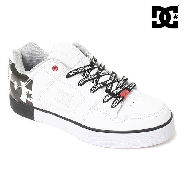 Black DC Mens Pure SE Skate Shoe 9.5 D US 301024