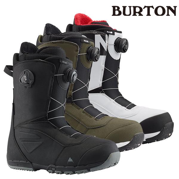 スノボーブーツ Boa ボア ボアブーツ SNOWBOARD スノボ メーカー正規品 スノーボード ブーツ BURTON バートン RULER BOA WIDE FIT ルーラ ボア ワイドフィット 19-20モデル メンズ GG H24