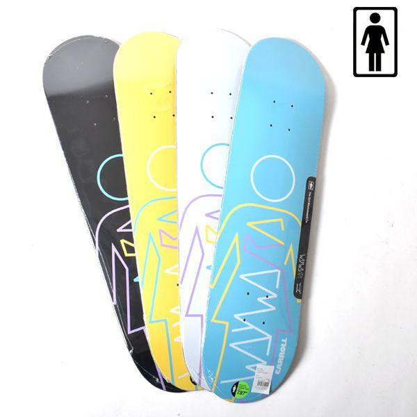 スケートボード スケボー デッキ GIRL ガール × WAYWARD WHEEL ウェイワードウィール GM10 MR×WAYWARD GG I7