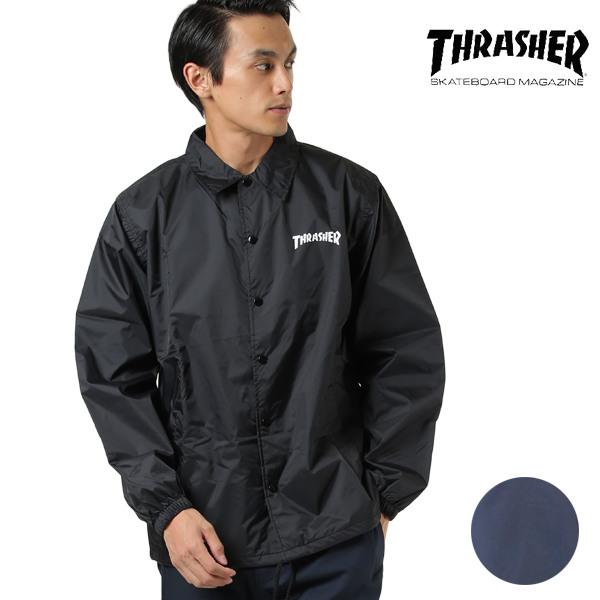 THRASHER スラッシャー メンズ ジャケット TH8901C MAG COACH JACKET HH I28