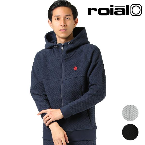roial ロイアル メンズ ジップアップ パーカー R903MSU01 GG3 I19