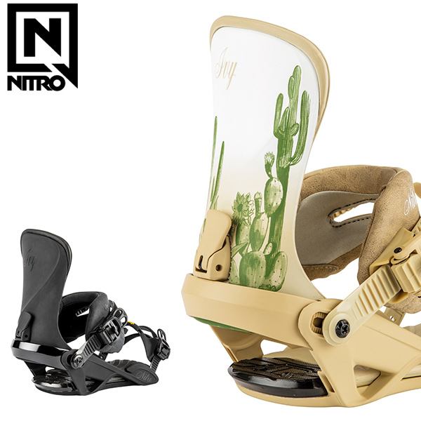 スノーボード バインディング ビンディング NITRO ナイトロ IVY アイビー 19-20モデル レディース GX J9 MM