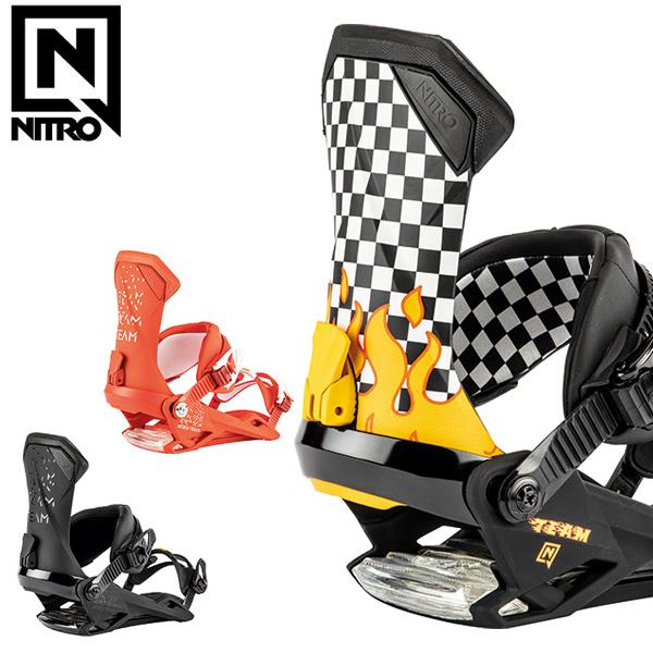 スノーボード バインディング ビンディング NITRO ナイトロ TEAM チーム 19-20モデル メンズ GX J9 MM