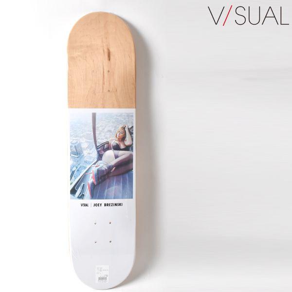 スケートボード スケボー デッキ V/SUAL ヴィジュアル VM8 MR JOEY BREZINSKI HELI 7.5インチ NAT GG K4
